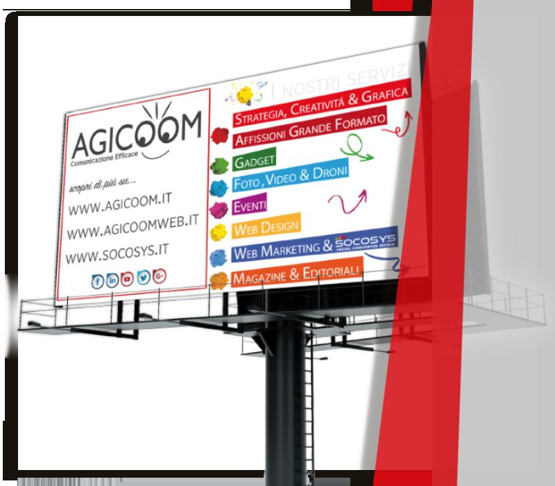 agicoom srl borgosesia affissione pubblicitaria - AGICOOM   Agenzia Marketing Pubblicità e Comunicazione